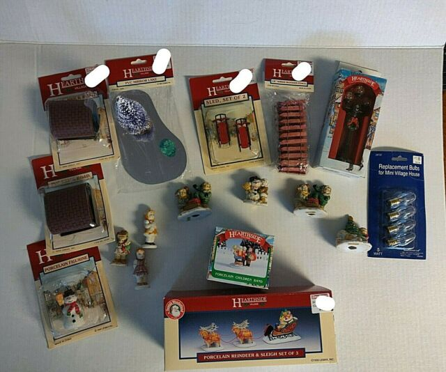 Vintage Hearthside Christmas Village