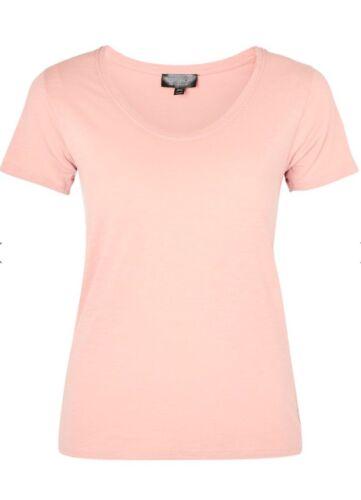 TopShop-Rose Encolure Dégagée Haut-Taille 8-Bnwt