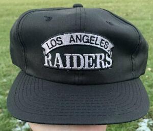 Vintage-NEW-Deadstock-1990s-Los-Angeles-Raiders-Snapback-Hat-Cap-NFL-Football