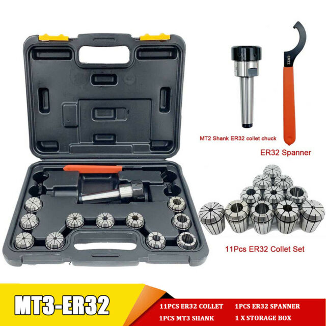 ER-32 MT3 SPRING COLLET CHUCK SET 3900-0503