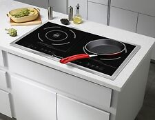 Induction Stove Cooktop Portable Double Burner Cooker Electric Countertop