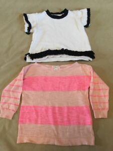 Girls' Clothing (newborn-5t) Baby & Toddler Clothing Nwot New Crewcuts Girls 3 3t Brown Sweater