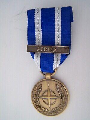 OTAN Médaille pour le Soudan agrafe AMIS NEUVE