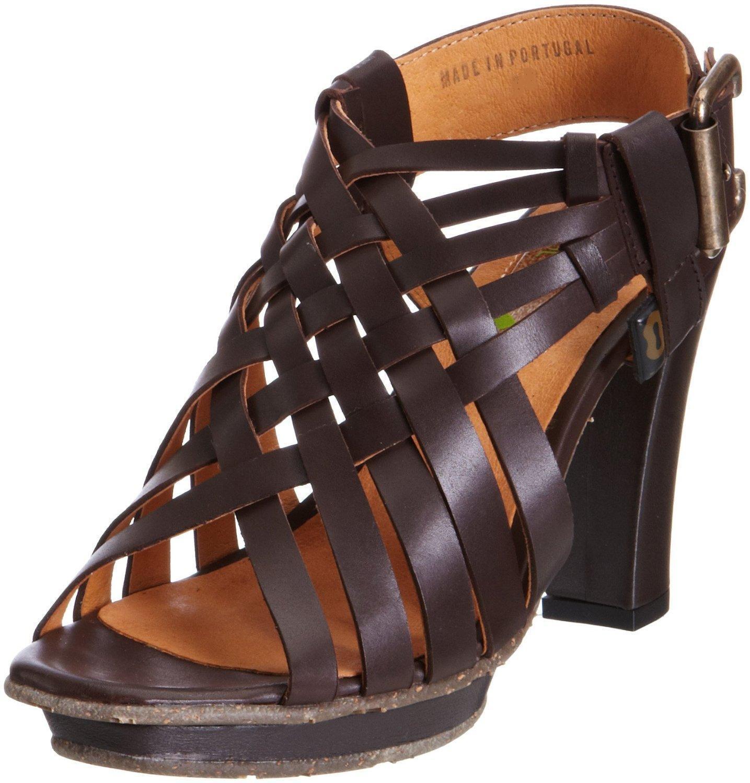Stork Steps Damenschuhe Lucy Dark Braun Eco Friendly Schuhes - Größe 7, 40 EU