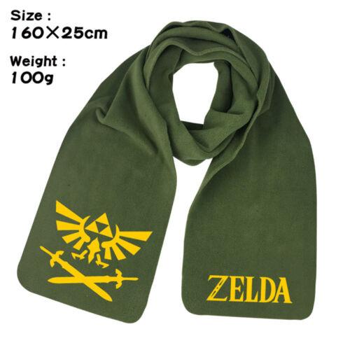 Women Scarf Anime The Legend of Zelda Warm Wrap Shawl casual neck Scarf Cosplay