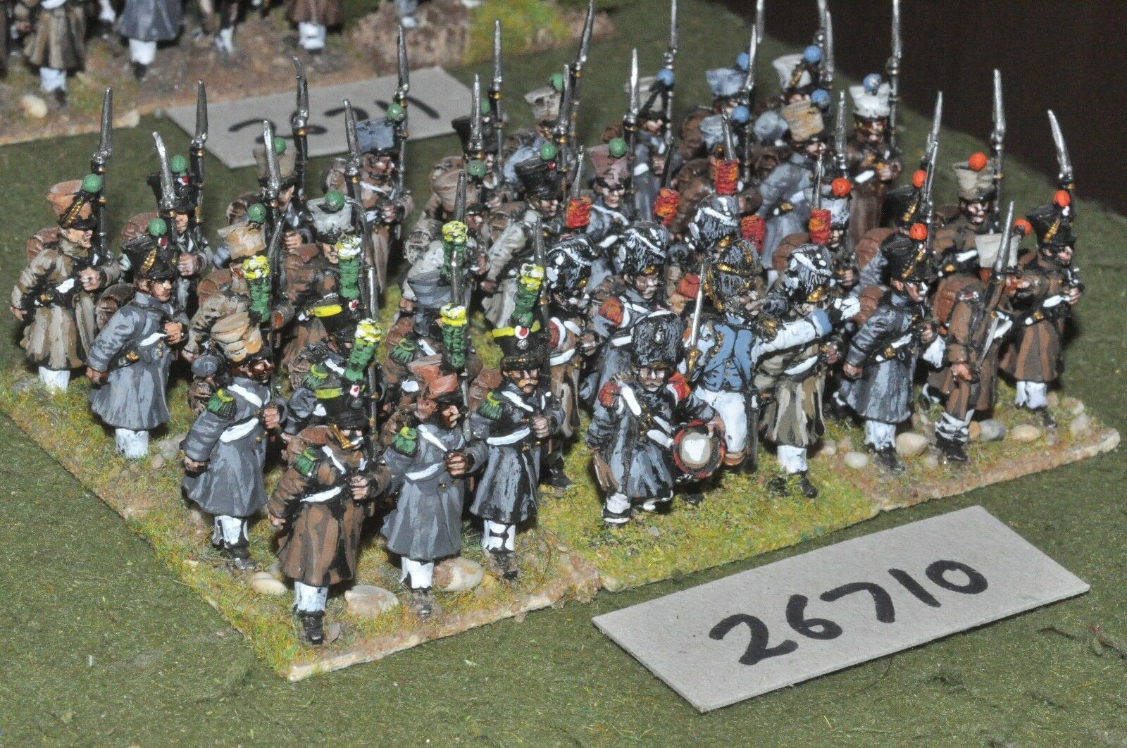 25mm napoleonic   french - - - line 36 figures - inf (26710) 68cd6c
