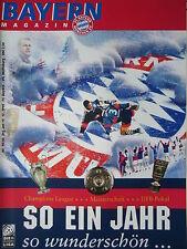Programm 1998/99 FC Bayern München - VfL Wolfsburg