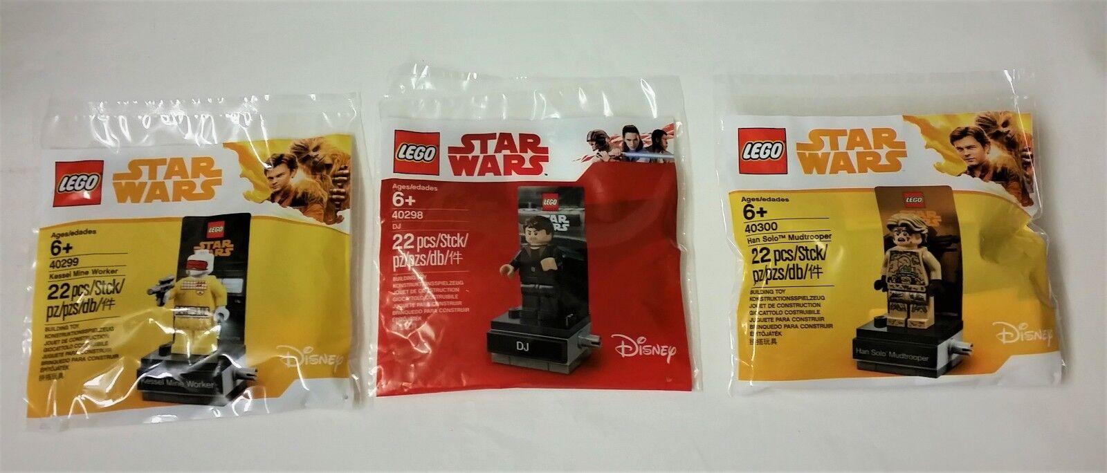 Lego Star - Wars Polybag Set 40298 - Star 40299 - 40300 - New Sealed 34bf2c