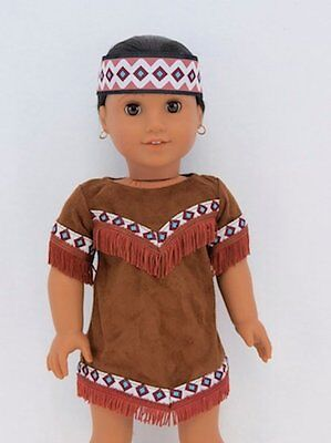 "Doll Clothes 18/"" Dress Pink Native American Dream Catcher Fits 18/"" AG Dolls"