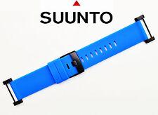 Suunto Core  ORIGINAL watch band strap BLUE Rubber with attachment  2 pins.