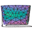 Luminous-Women-Geometric-laser-Tote-Shoulder-Bags-Laser-Plain-Folding-Handbags thumbnail 37