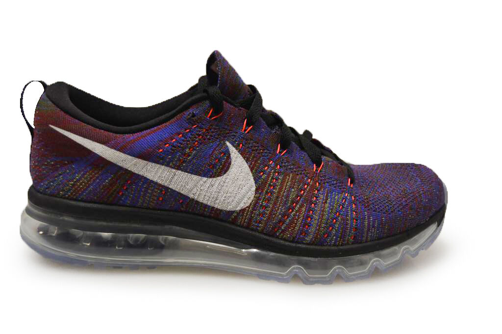 Mens Nike Flyknit Max - 620469016 - Purple Black White Trainers Cheap and beautiful fashion