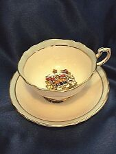 Vintage Cup Saucer Canada Coat of Arms Paragon Fine Bone China England Royals
