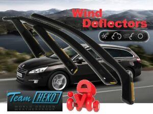 PEUGEOT-508-ESTATE-WAGON-2011-Wind-deflectors-4-pc-HEKO-26144