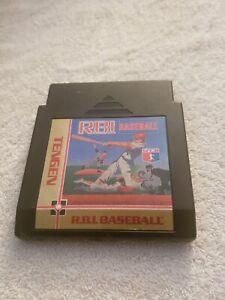 R.B.I. Baseball: Tengen Nintendo NES VIDEO GAME CART