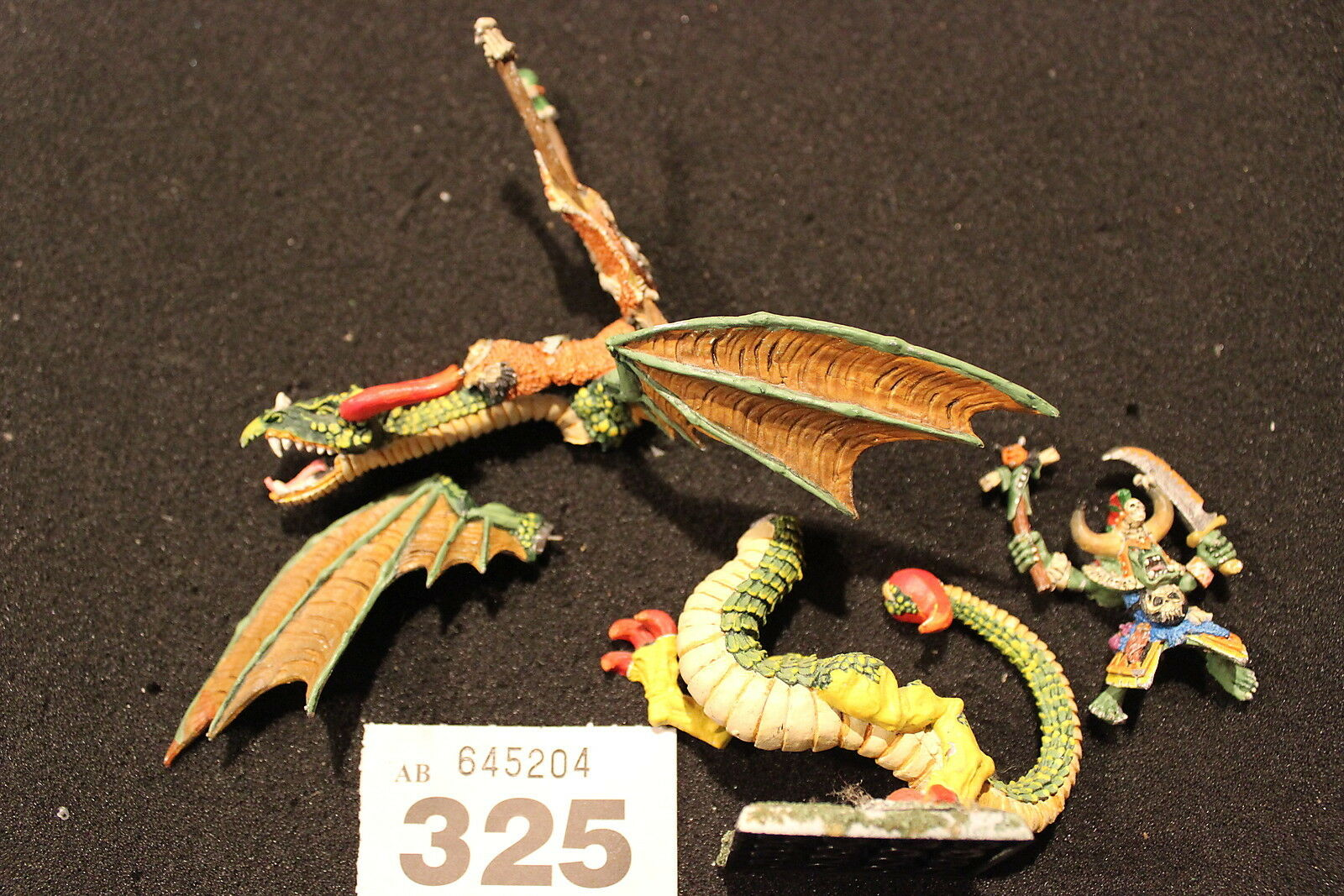 Games Workshop Workshop Workshop Warhammer Classic Orcs War Wyvern Pro Painted Dragon Complete OOP 19a90f