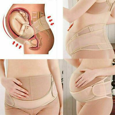 MATERNITY PREGNANCY BELT LUMBAR BACK SUPPORT WAIST BAND BELLY BUMP BRACE STRAP