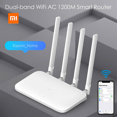 Xiaomi 4A 2.4GHz 5GHz Dual Band Smart Wireless WiFi Router AC1200M 4 Antenna APP