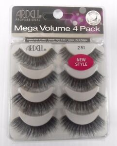 f47d02f9c5f Ardell Mega Volume Double UP 4 Pack Strip Lashes Style #251 ...