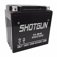 2008-05' Bmw K1200s Replacement Battery By Shotgun, 1 Year Warranty, Us Stock