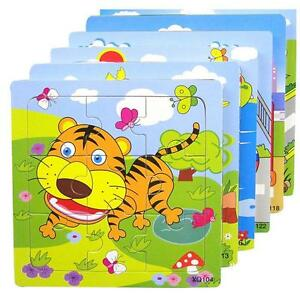 Colorful-Wooden-Animal-Puzzle-Jigsaw-Toddler-Kids-Early-Learning-Toy-Educational