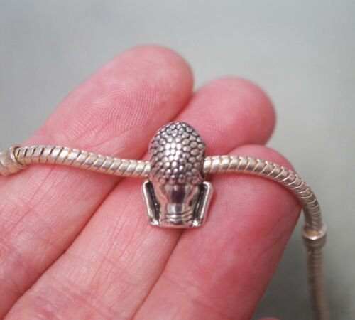 For Charm Bracelet Metal Antique Silver 1 Buddha Charm Bead