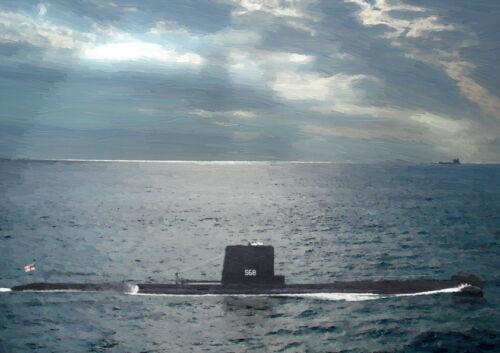 HMS AMBUSH S68 LIMITED EDITION ART 25