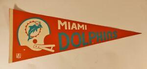 VTG-Original-Miami-Dolphins-AFL-NFL-Football-Decorative-Pennant