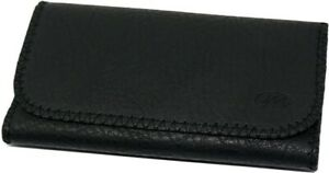 PLAIN TOTAL ALL BLACK Tobacco Cigarette Smoking Paper Pouch Case Bag Holder