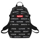 2017 Supreme 3M REFLECTIVE Backpack Box Logo Shoulder Bag Leisure stud black