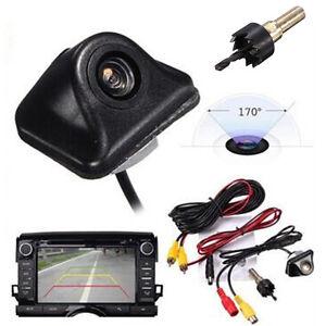 Универсальная автомобильная камера заднего вида авто парковки обратная резервная камера ночного видения