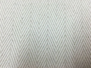 Kings Herringbone Oatmeal Linen Bamboo Curtain Craft Upholstery