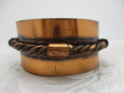 Vintage Jewelry Handmade Vintage Estate Copper Cuff Bracelet Gift