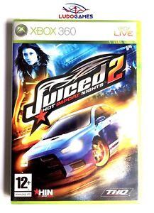 Juiced-2-Hot-Import-Nights-Xbox-360-Neuf-Scelle-Scelle-Produit-Nouveau-Pal-Spa