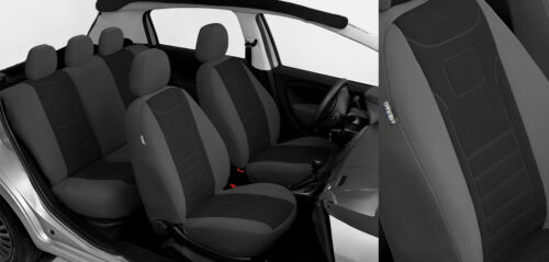 Sitzbezüge VELOUR maßgefertigt FIAT PANDA III 2012-2017