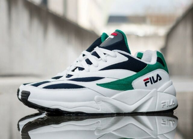 FILA 2018 VENOM 94 WHITE/NAVY FS1HTA3032X UNISEX SHOES US SZ 4-11