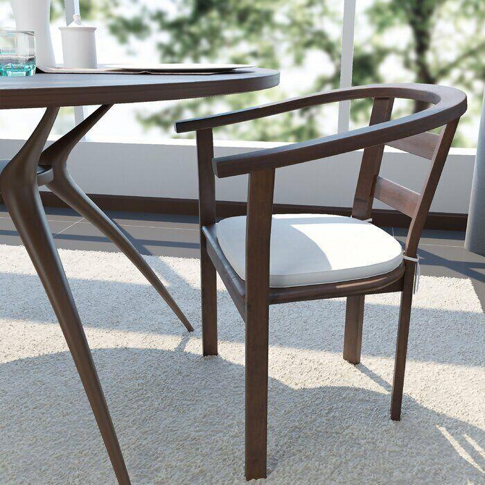 Pillow Nunu Geo Indoor Outdoor Dining Chair Cushion Set Of 2 For Sale Online Ebay