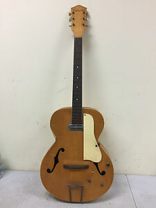 Vintage Silvertone Acoustic Archtop? Hollow Body? Electric ...