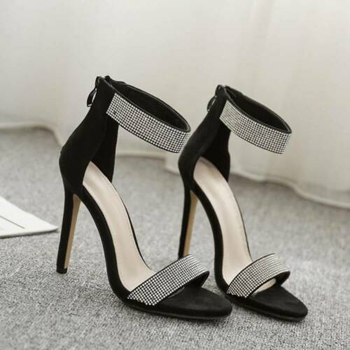 Fashion Single Shoes Ladies Sandals Casual Solid Color Elegant High Heels Lin