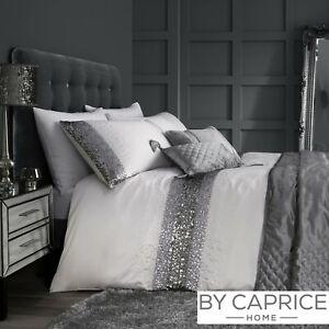 By-Caprice-MONROE-Silver-Sequin-Trim-Duvet-Cover-Set