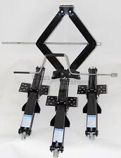 """NEW Four Pack 24"""" 2500 lb RV Scissor Leveling Jacks Trailer mobile 4-24-25CR"""