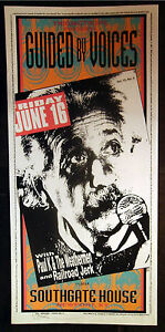 Rare-Mark-Arminski-Guided-By-Voices-1995-Silkscreen-Concert-Poster