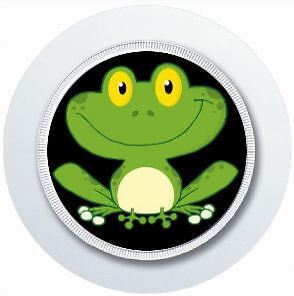 HAPPY CUTE FROG CAR TAX DISC HOLDER REUSABLE