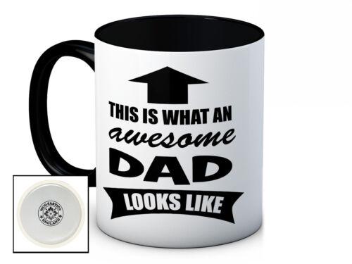 Ce est ce que un super papa ressemble-Haute Qualité Tasse à café-Father /'s Day