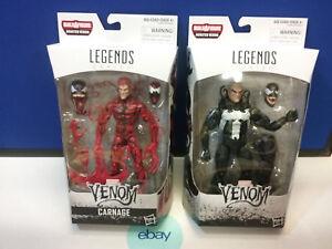 Marvel Legends Set De 2 Baf Carnarge & Venom Nouveau
