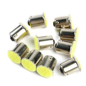 10PCS-1156-BA15S-12SMD-White-LED-Car-Light-Wedge-Lamp-Bulbs-Super-Bright-DC12V