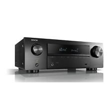 Denon AVR-X550BT 5.2 AV-Receiver, Bluetooth, 5x HDMI, 4K , HDR, Schwarz