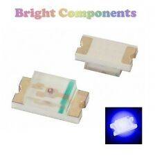 10 x 1206 Blue LED (SMD) - Ultra Bright - UK - 1st CLASS POST