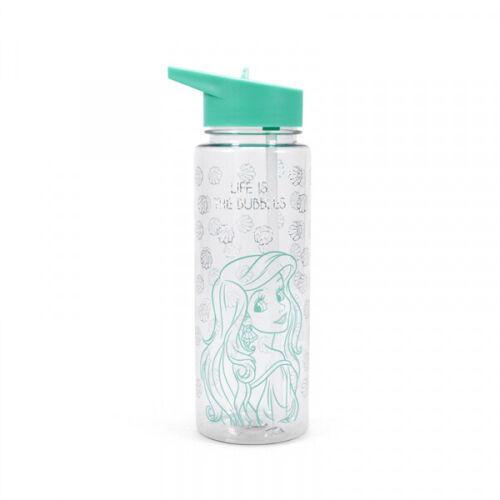 OFFICIAL Disney Princess Ariel Sirena bolle Acqua Sport Drink Bottiglia