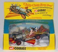 Corgi 266 Chitty Chitty Bang Bang Car. GOLD chrome. MINT/Boxed. Original 1960's